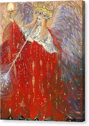 Gabriel Canvas Print - The Angel Of Life by Annael Anelia Pavlova