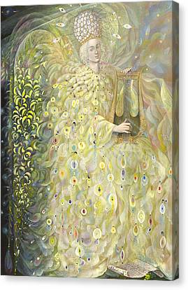 Gabriel Canvas Print - The Angel Of Wisdom by Annael Anelia Pavlova