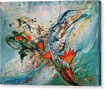 The Angel Wings Series #1 Canvas Print by Elena Kotliarker