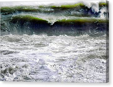 The Angry Sea Canvas Print by Olivier Le Queinec