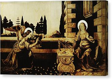 The Annunciation Canvas Print by Dino Muradian