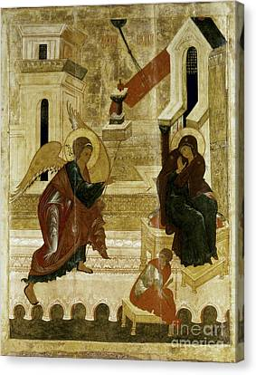 The Annunciation Canvas Print by Granger