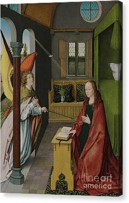 The Annunciation Canvas Print by Jan Provost