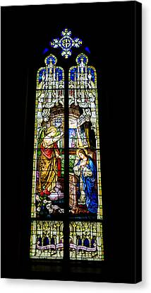 The Annunciation - St Mary's Church Canvas Print by Stephen Stookey