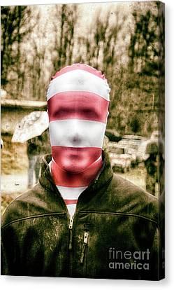 Hidden Face Canvas Print - The Anonymous  by Steven Digman