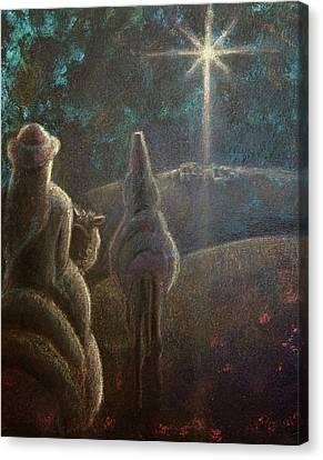 The Anticipation Canvas Print by Lisa DuBois