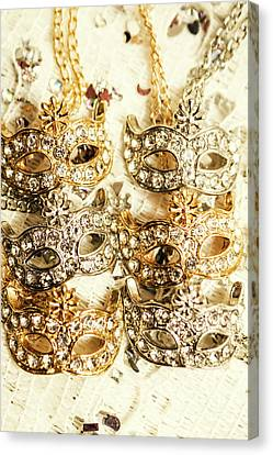The Antique Jewellery Store Canvas Print