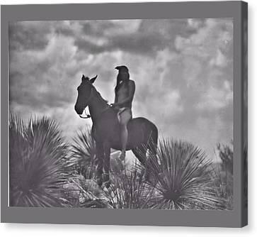 The Apache Scout Canvas Print by John Feiser