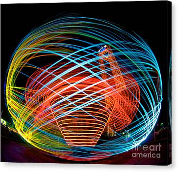 The Apollo At Dorney Park Canvas Print by Mark Miller