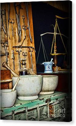 The Apothecary Shoppe Canvas Print by Paul Ward