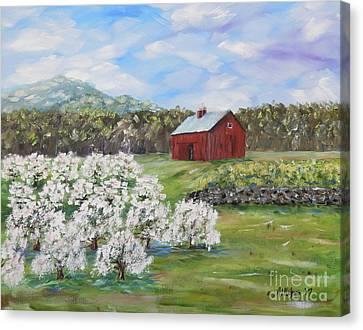 Canvas Print - The Apple Farm by Stanton Allaben