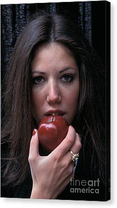 The Apple Canvas Print by Marc Bittan