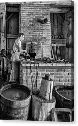 The Apprentice 3 Bw Canvas Print by Steve Harrington