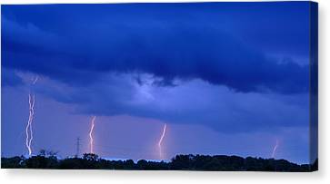The Approching Storm Canvas Print