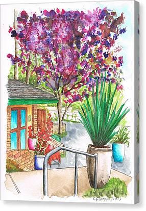 The Arboretum Gift Shop In Arcadia-california Canvas Print by Carlos G Groppa