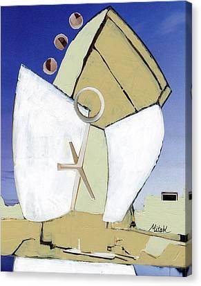 The Arc Canvas Print by Michal Mitak Mahgerefteh