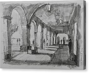 The Arcade, San Miguel De Allende Canvas Print