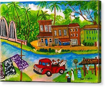 The Arch Bridge Canvas Print by Lydia Matias