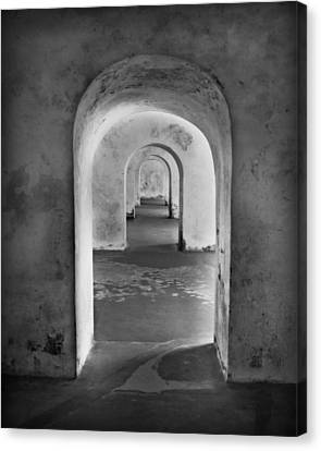 Puerto Rico Canvas Print - The Arches 2 by Perry Webster