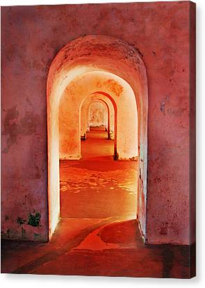 The Arches Canvas Print by Perry Webster