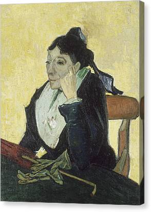 The Arlesienne Canvas Print by Vincent van Gogh