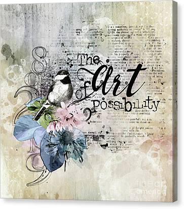 The Art Of Possibilty Canvas Print
