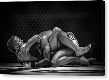 The Art Of The Fight Canvas Print by Ray Congrove