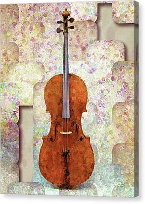 The Artist's Cello Canvas Print