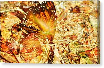 The Ascension Canvas Print by Maria  Wall