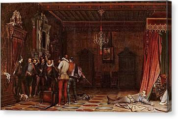 The Assassination Of The Duc De Guise Canvas Print by MotionAge Designs