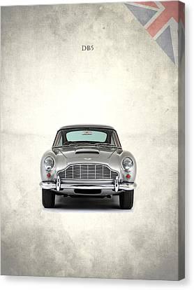 Aston Martin Canvas Print - The Aston Martin Db5 by Mark Rogan