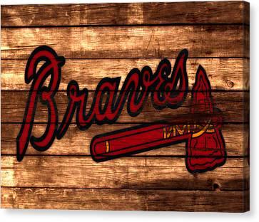 The Atlanta Braves 3a     Canvas Print