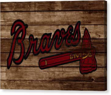 The Atlanta Braves 3b     Canvas Print
