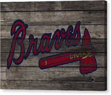 The Atlanta Braves 3e     Canvas Print