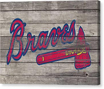 The Atlanta Braves 3i     Canvas Print
