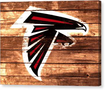 The Atlanta Falcons 3a Canvas Print by Brian Reaves