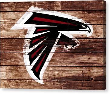 The Atlanta Falcons 3f Canvas Print by Brian Reaves