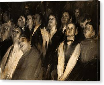 The Audience Canvas Print by H James Hoff
