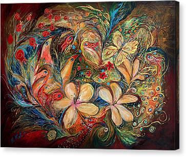 The Autumn Wind Canvas Print by Elena Kotliarker