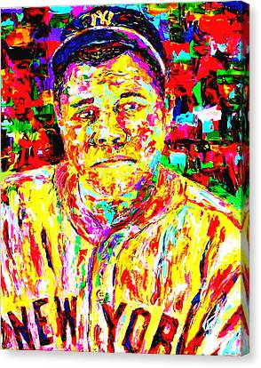The Babe Canvas Print by Mike OBrien