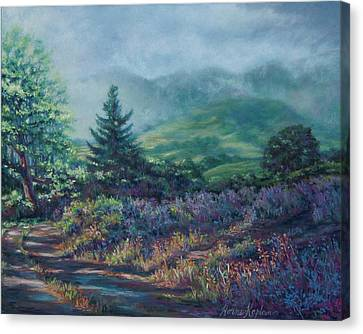 The Back Road In Canvas Print