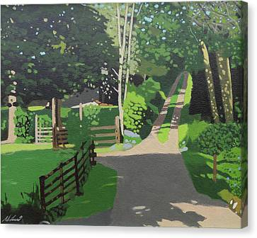 The Back Woods Canvas Print