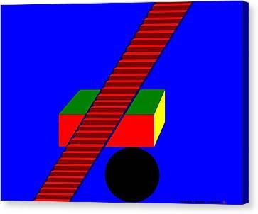 Etc. Canvas Print - The Balance.  by Richard Magin