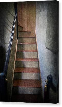 The Balcony Stairs Canvas Print by Brian Wallace