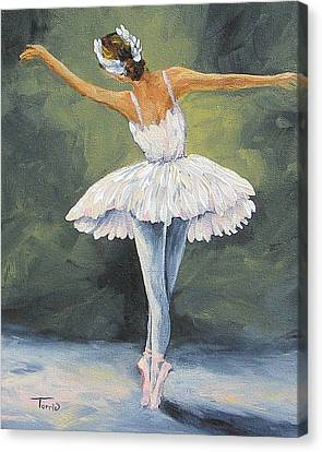 The Ballerina II   Canvas Print by Torrie Smiley