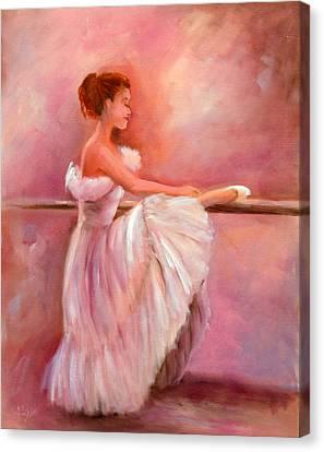 The Ballerina Canvas Print by Sally Seago