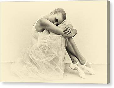 Le' Ballerina Canvas Print