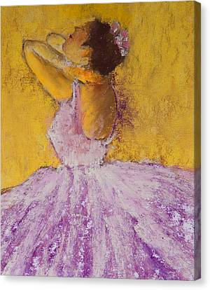 The Ballet Dancer Canvas Print by David Patterson