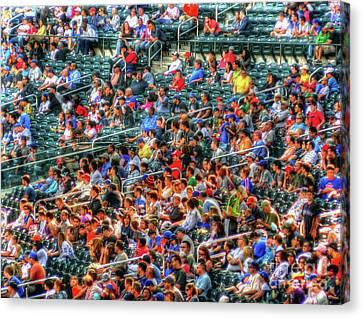 The Ballgame Canvas Print by Jeff Breiman