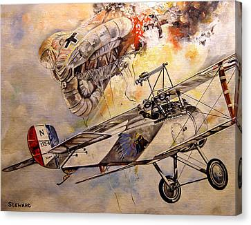 The Balloon Buster Canvas Print by Marc Stewart